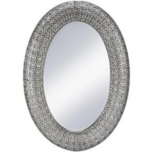 Spiegel in Silber antik ca. 65/92/4,5 cm Chime