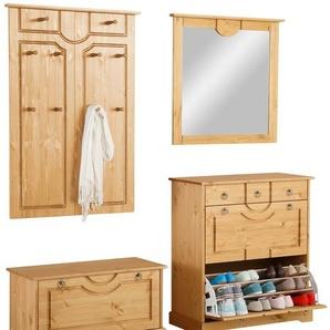 Home affaire Garderoben-Set »Klera« (4-tlg.), beige