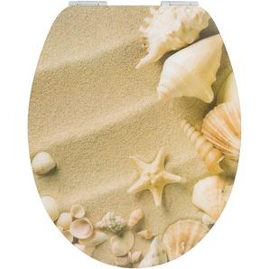WC-Sitz Strand mit Absenkautomatik, sand