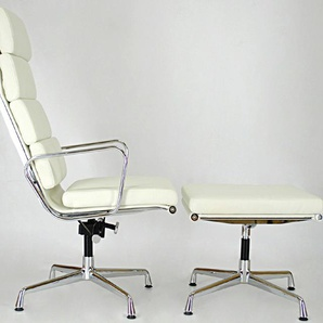 Lounge Stuhl EA222 - Weiß