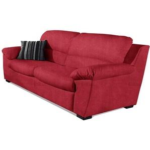 COTTA 2,5-Sitzer, rot, Luxus-Microfaser