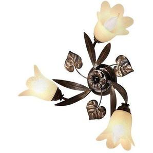 Deckenlampe»Florentiner-Serie«, braun