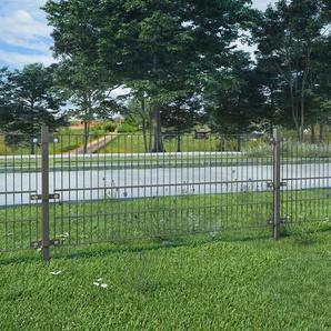 500 cm x 80 cm Gartenzaun Kingsville aus Maschendraht