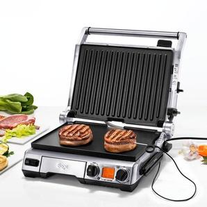 Sage Smart Grill™ Pro, XXL-Tischgrill, Grillplatte, Antihaftplatte, Oberplatte 6-fach höhenverstellbar, 160-230 °C, misst Kerntemperatur, 5 Programme