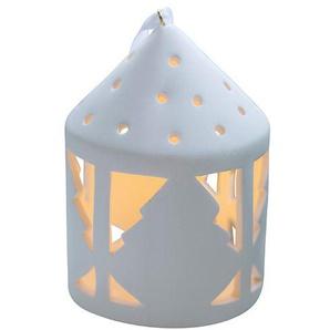 LED-Teelichtlaterne Olina Sirius weiß, Designer Marianne Bjarløv, 10.3x0x0 cm