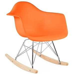 Kinder Eames Schaukelstuhl RAR - Orange