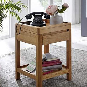 Main Möbel Telefontisch 40x60cm Bayreuth Kernbuche massiv