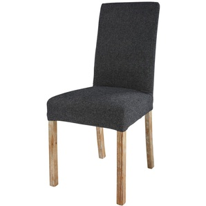 Graue Stuhlbezug 47x57