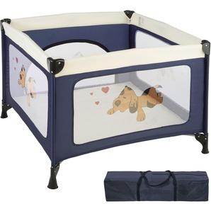 Baby Laufstall Tommy Junior blau