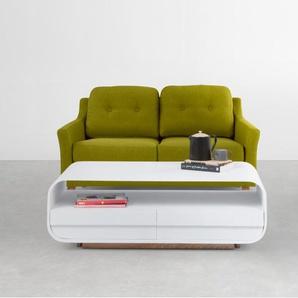 Rufus 2-Sitzer Sofa, Blattgruen