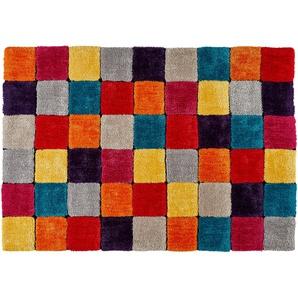 Tom Tailor Handtuft-Teppich  Soft Box | mehrfarbig | 100 % Polypropylen | 140 cm | Möbel Kraft