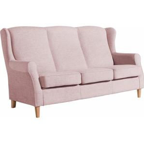 Max Winzer® 3-Sitzer »Luke«, mit Kederverarbeitung, rosa