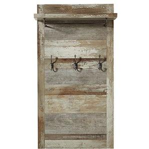 Wohnorama Garderobenpaneel vertikal Bonanza von Innostyle Driftwood Vintagelook Dekor by