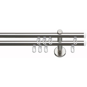 Gardinenstange »Consul«, indeko, Ø 16 mm, 2-läufig, Wunschmaßlänge