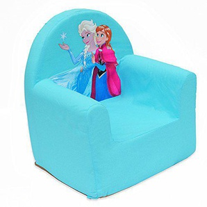 Reine des Neiges Cars Sessel Disney in Form Club Polyurethan, Stoff, blau, 41x37.5x29.5 cm