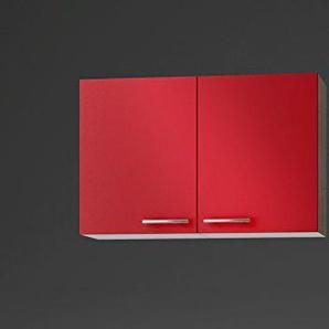 idealShopping GmbH Hängeschrank O106-9 in rot glänzend