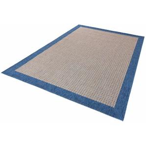 Hanse Home Teppich »Simple«, 200x290 cm, besonders pflegeleicht, 8 mm Gesamthöhe, blau