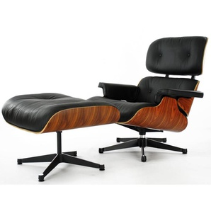 Eames Lounge Sessel - Rosenholz