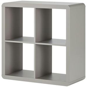 Raumteiler  Arctic ¦ grau ¦ Maße (cm): B: 78,5 H: 78,5 T: 35 Regale  Raumteiler » Höffner