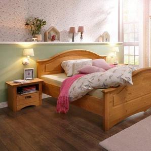 Home affaire Schlafzimmer-Set »Konrad«, (Set, 5-tlg), mit 5-trg. Kleiderschrank, Bett 180/200 cm und 2 Nachttischen, beige