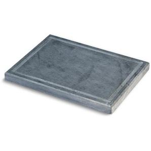 Sunday Pizzaplatte Speckstein mit umlaufender Nut 40 x 30 cm