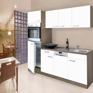 Respekta Küchenzeile mit E-Geräten »York«, Breite 205