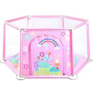MRKE Laufstall Baby Laufgitter Schutzgitter Spielzeug Laufgitter für Kinder, Ohne Bisphenol A, Faltbar, 148 * 66.5 * 64cm Size 148 * 66.5 * 64cm