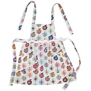 Krasilnikoff - Küchenschürze/Kinder - Apron/Kids - Apple Plum - Baumwolle - Bunt - 65x75 cm