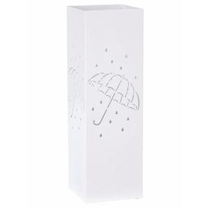 Schirmständer, weiß, Gr. 49/16/16 cm,  home