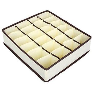 yeenee-Unterwäsche für Damen mit Organizer Schubladen klappbar Aufbewahrungsbox #2