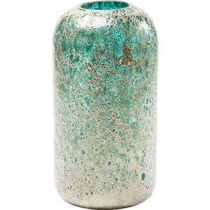 Vase Moonscape Türkis 31cm