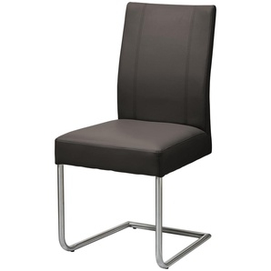 Woodford Schwingstuhl  Viola ¦ braun ¦ Maße (cm): B: 47 H: 95 T: 59 Stühle  Esszimmerstühle  Esszimmerstühle ohne Armlehnen » Höffner