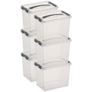 Sunware Aufbewahrungsboxen »9 Liter«, 6er Set