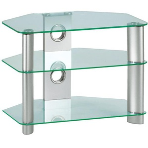 TV-Möbel TOM Klarglas/Metall ca. 80 x 50 x 45 cm