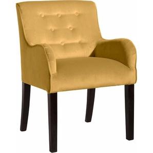 Max Winzer®  Esszimmersessel  (Set) »Debby«, gelb, B: 55cm, FSC®-zertifiziert