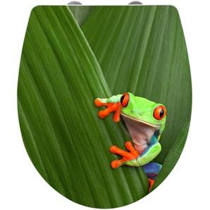 Zurbrüggen WC-Sitz Hochglanz Acryl Frog