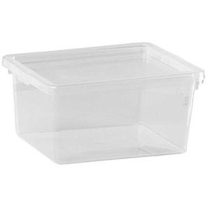 Kunststoffbox Aufbewahrungsbox Stapelbox CAESAR 3 | Kunststoff | transparent | stapelbar | 2 Liter
