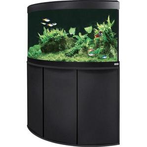 Fluval Aquarium-Kombination Vicenza LED 190 l Schwarz