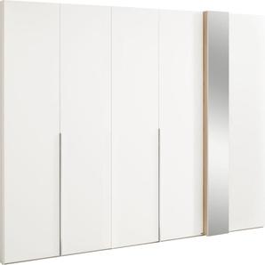 set one by Musterring Drehtürenschrank »fontana« mit Dekorfront und Spiegel, in 3 Breiten