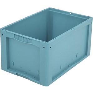 BITO-Lagertechnik Kleinladungsträger KLT mit Doppelboden / KLT 64320D 600x400x320 türkis Doppelbod