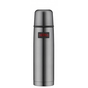 THERMOS by alfi Thermosflasche 750 ml LIGHT & COMPACT Edelstahl Cool Grau