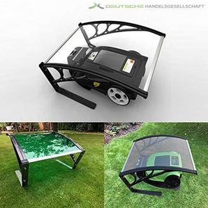 Tevex Rasenrobotergarage Edelstahl grün Standard
