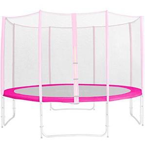 Randabdeckung Pink für Gartentrampolin 1,85 M - 4,60 M - Ersatzteil Federabdeckung PVC - RA-1956 - Größe 1,85 m 3L