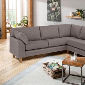 Premium Collection By Home Affaire Ecksofa »Garda«, braun
