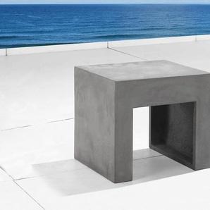Gartenstuhl grau Beton TARANTO