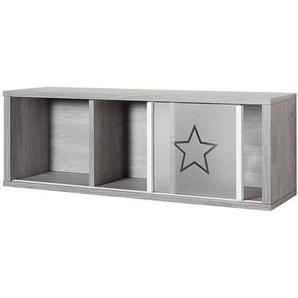 Wandregal Eco Star- Driftwood Dekor/Weiss