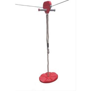 Teller / Sitz für Seilbahn rot
