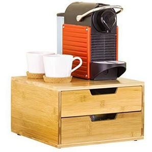 SoBuy FRG82-N Kaffeekapsel Box,Kapselspender, Aufbewahrungsbox, Schubladenbox ,Schreibtischorganizer