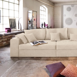 Nova Via Bigsofa ohne Bettfunktion, beige