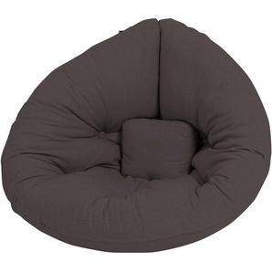 Karup Design kleiner Futon-Sessel »Mini Nido«, grau